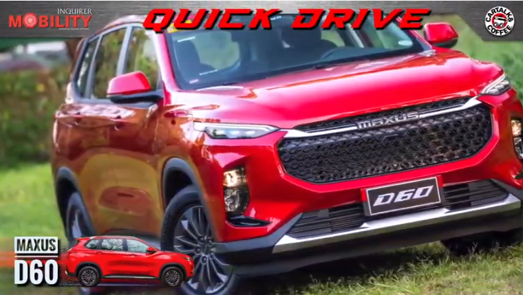 Maxus is rolling out a new SUV, and it's looking sharp!