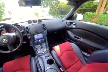 Get in the cockpit of a Nismo 370 Z!