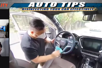 AUTO TIPS: DISINFECT YOUR CAR EFFECTIVELY