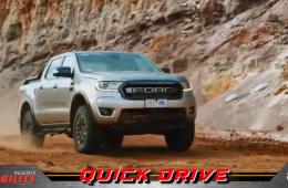 The Ford Ranger Raptor flexes!