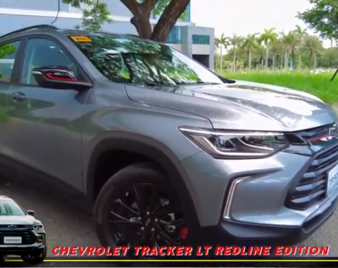 Chevy's firecracker of a Crossover is here, the all-new Chevrolet TRACKER!